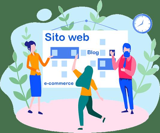 Sito web, blog o ecommerce