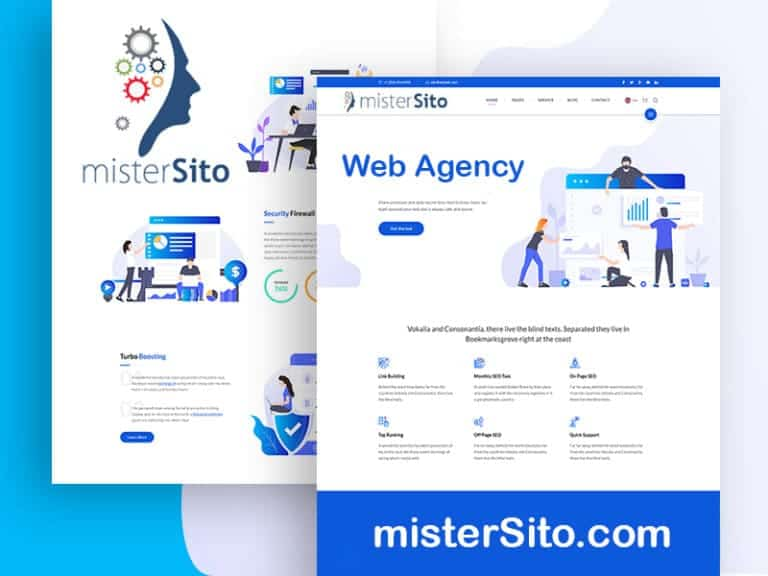 Web Agency esperta in Sviluppo e Design di mistersito