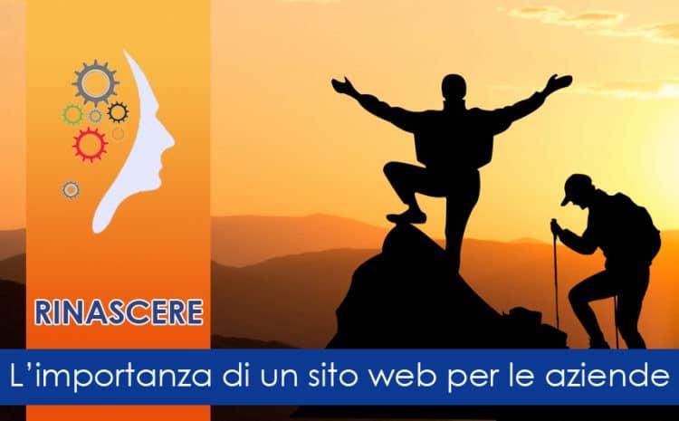 L'importanza di un sito web per le aziende che vogliono rinascere.