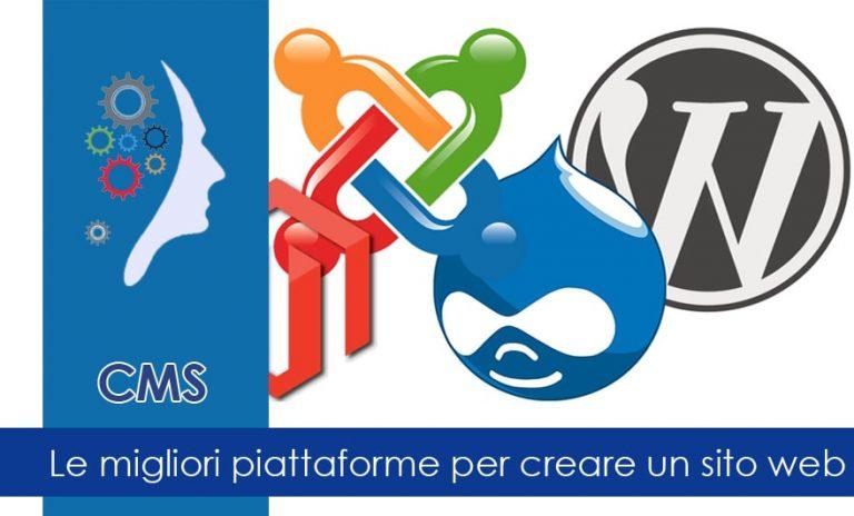 Le migliori piattaforme per creare un sito web