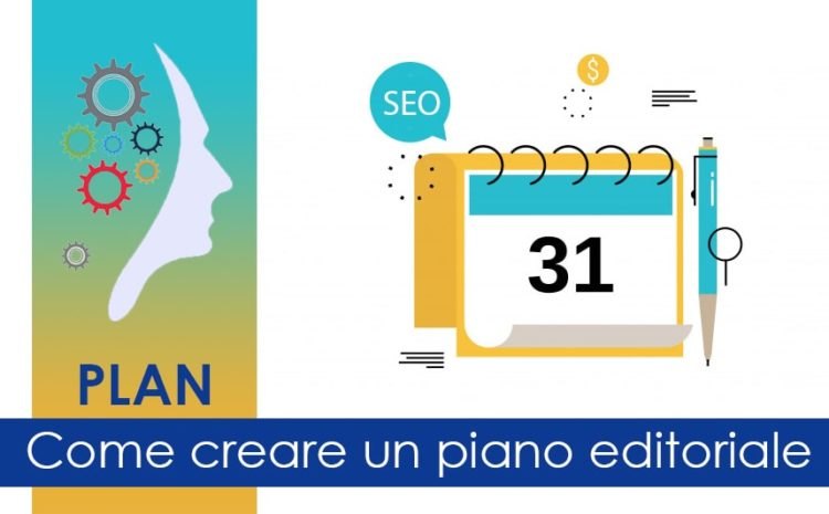 Creare piano editoriale