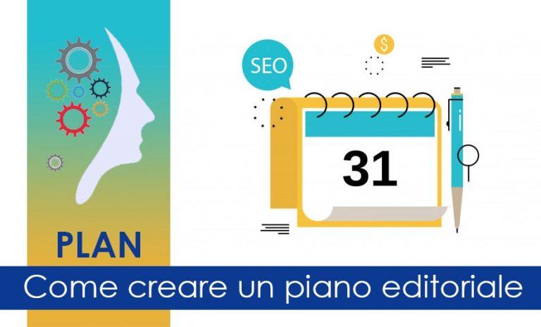 Creare piano editoriale