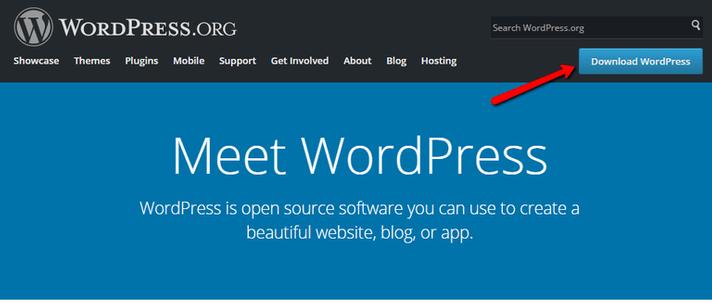 WordPress sito ufficiale