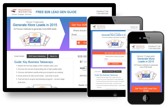 Landing page Smart