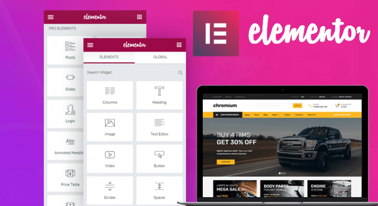 Elementor in WordPress