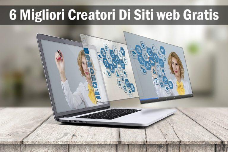 Migliori Creatori Di Siti web Gratis
