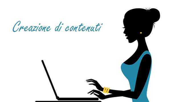 Creazione di contenuti