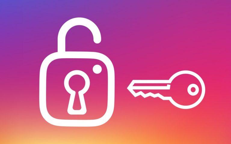 recuperare password instagram
