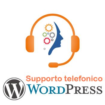 Supporto telefonico wordpress