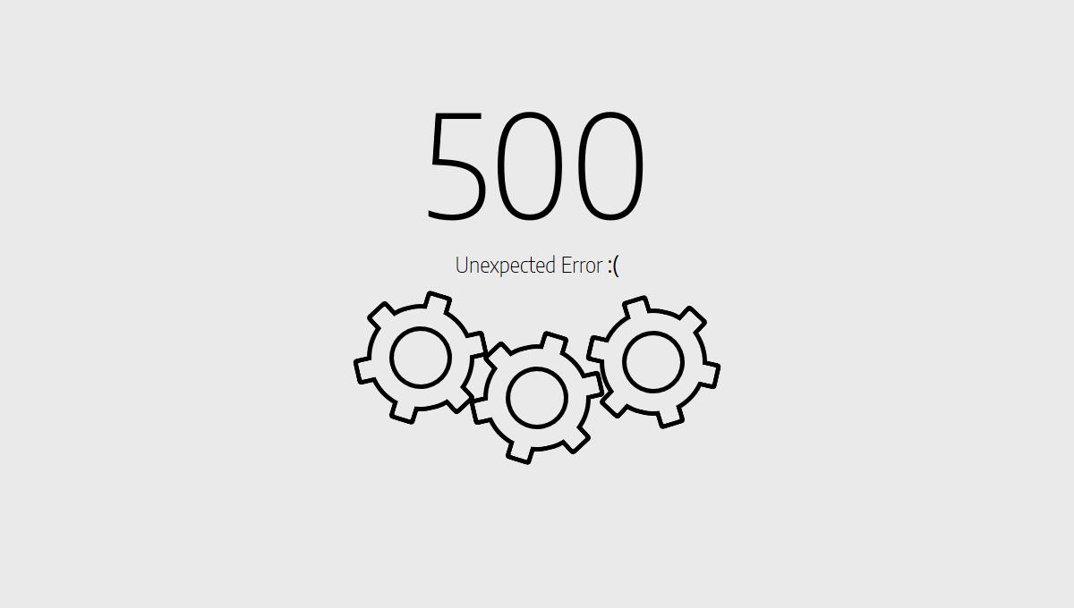 errore 500 wordpress