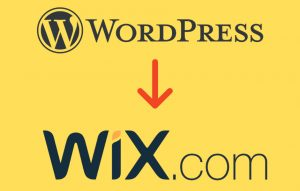 Migrare WordPress a Wix