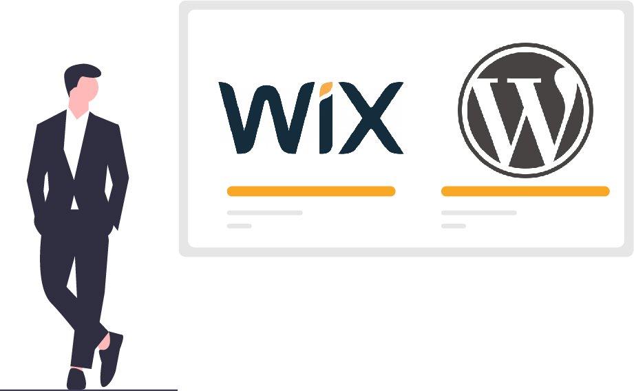 trasferire Wix su WordPress